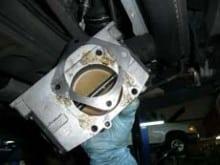 Misaligned Throttle Body Gasket